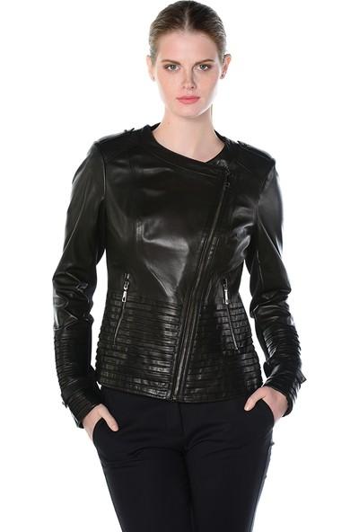 Deriderim K-Zessı Kadın Siyah Ceket