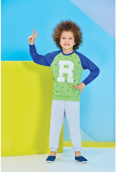 RolyPoly Erkek Çocuk Eşofman Takımı Yeşil