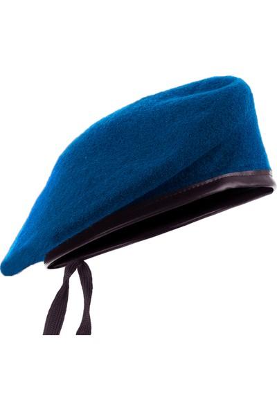 Flaş Yetişkin Mavi Asker Komando Beresi