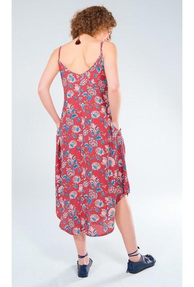 Clandestino Askılı Elbise
