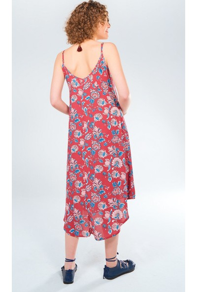 Clandestino Askılı Hamile Elbise