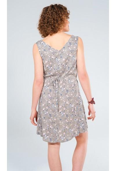 Clandestino Çiçekli Elbise