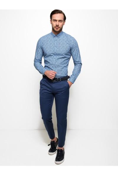 Cacharel 50189514-Vr028 Erkek Keten Pantolon