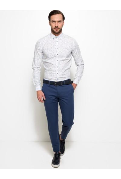 Cacharel 50188638-Vr028 Erkek Keten Pantolon