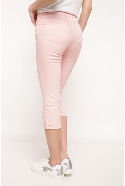 Defacto Kadın Kapri Pantolon