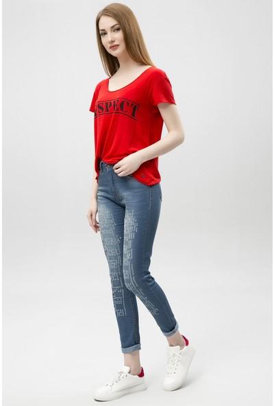 New Laviva 650-5003-4 Kadın Pantolon