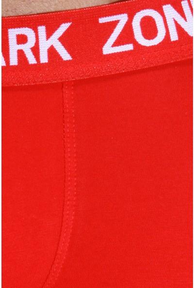 Darkzone Kırmızı Parçalı Boxer