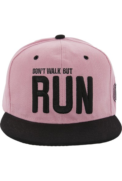 Laslusa Don'T Walk But Run Hip Hop Snapback Şapka