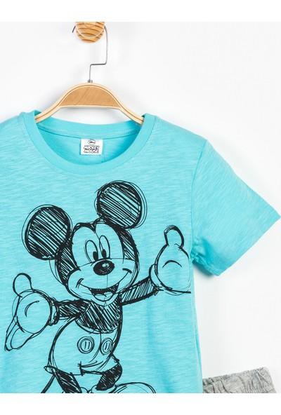 Disney Mickey Mouse Çocuk Pijama Takımı 12902