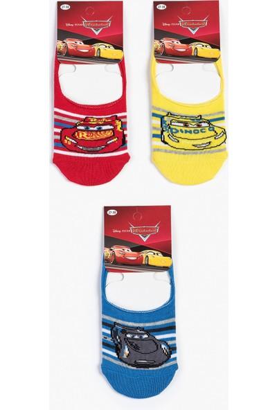 Spiderman Disney Cars Çocuk Çorap 13004