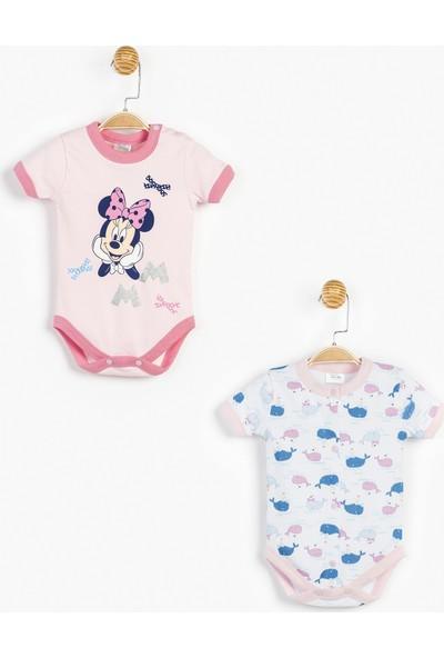 Disney Minnie Mouse Bebek Body Takım 12756