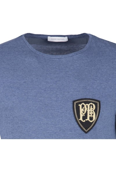 Pierre Balmain Erkek T-Shirt HP68211TA8292 730