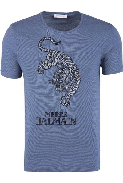 Pierre Balmain Erkek T-Shirt HP68226TA8292 730