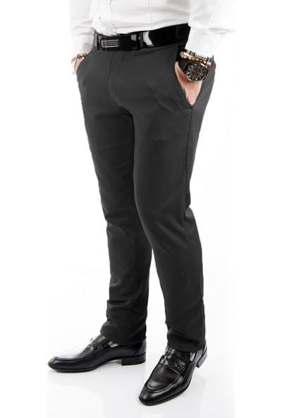 DeepSEA Beyaz Pamuk Saten Önü Ufak Cepli Dar Paça Erkek Spor Pantolon 1702531