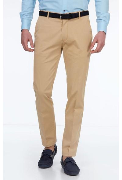 Hemington Erkek Camel Kanvas Pantolon