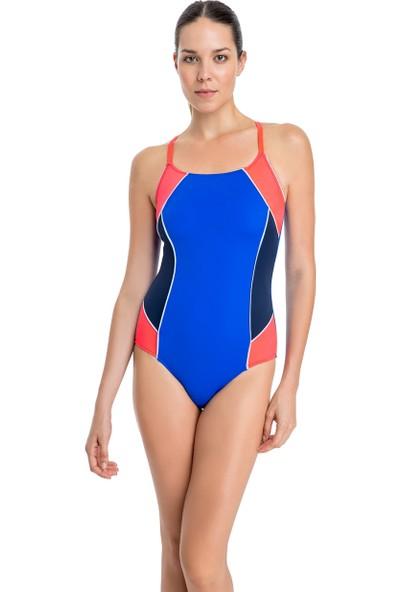 Dagi Kadın Yüzücü Mayo Saks