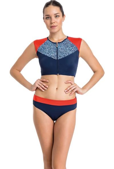 Dagi Kadın Yüzücü Bikini Takımı Lacivert