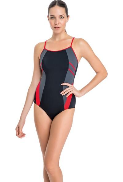 Dagi Kadın Yüzücü Mayo Kırmızı