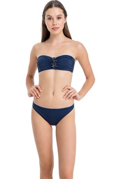 Dagi Kadın Straplez Bikini Takımı Lacivert