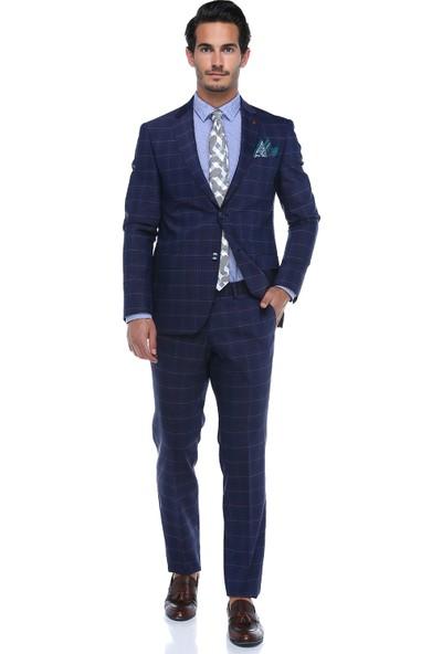 Centone Dar Takım Elbise 18-0043