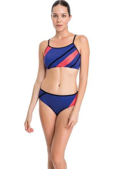 Dagi Yüzücü Bikini Takımı B0118Y0018Mor