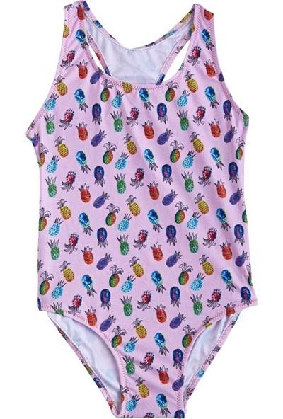 Slipstop Pineapple Kız Çocuk Mayo