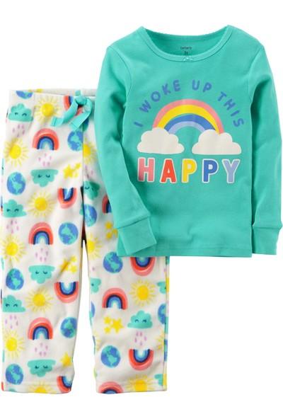 Carter's Küçük Kız Çocuk 2'Li Polar Pijama 357G312