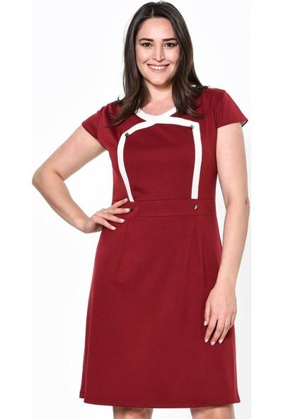Lir Kadın Elbise 42 Bordo