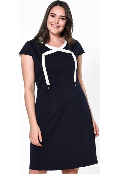 Lir Kadın Elbise 42 Lacivert