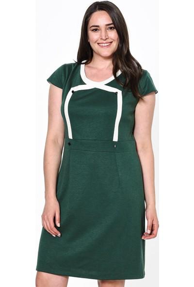 Lir Kadın Elbise 42 Yeşil