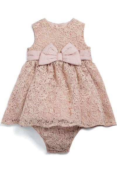 Mamas & Papas Lace Bow Elbise