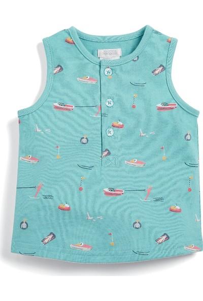Mamas & Papas Beach Print Vest Askılı