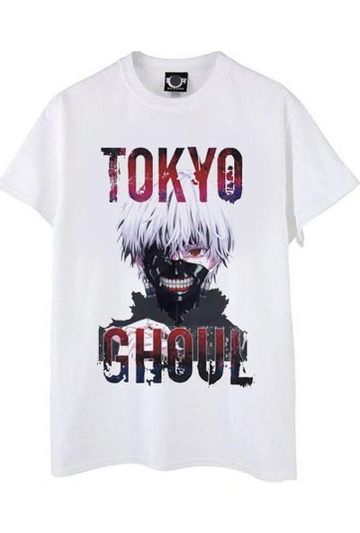 Take Tokyo Ghoul Baskılı Tişört