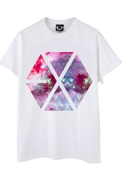Take Exo Galaxy Tişört Kpop Tshirt