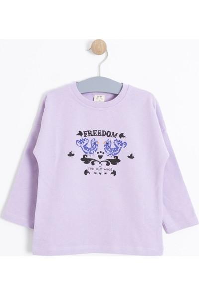 Soobe Kız Çocuk Sweatshirt Lila