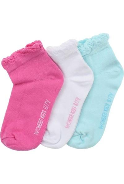 ModaKids Wonder Kids Kız Çocuk 3 lü Çorap 010-5781-027