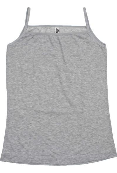 ModaKids Gümüş İç Giyim Kadın Gri İp Askılı Atlet 040-4047K-011