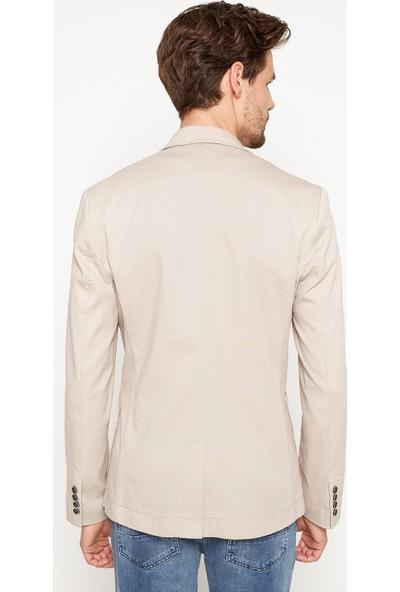 Koton Erkek Düğme Detaylı Ceket