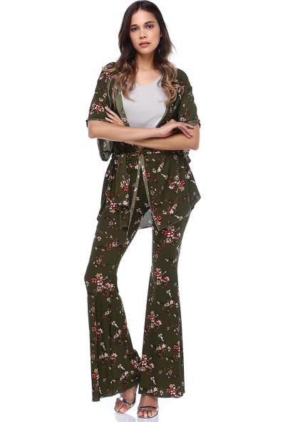 Quincey Desenli Kimono