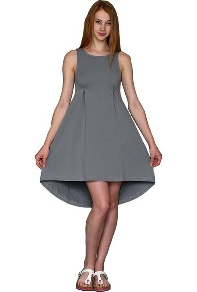 Mela D'oro Kadın Kolsuz Elbise