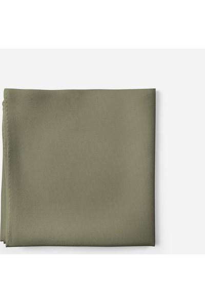Sedef SK4010 Askeri Yeşil Bayan Krep Şal