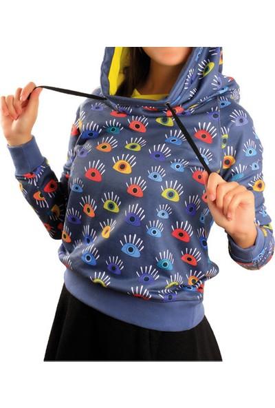Biggdesign Gözüm Sende Sweatshirt Standart Renkli