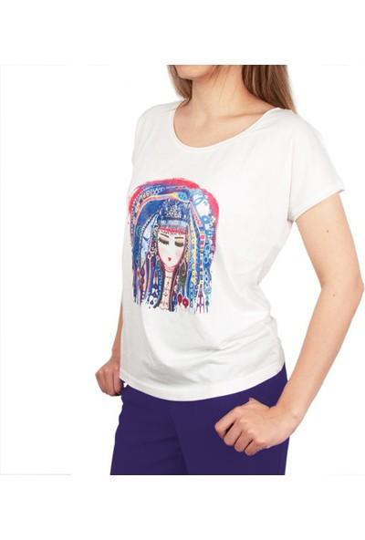 Biggdesign Mavi Su T-Shirt by Canan Berber