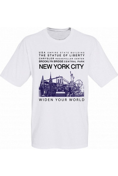 Tk Collection New York City T-Shirt Large