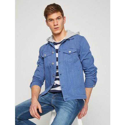 Koton Erkek Düğme Detaylı Jean Ceket Fiyatı Taksit Seçenekleri