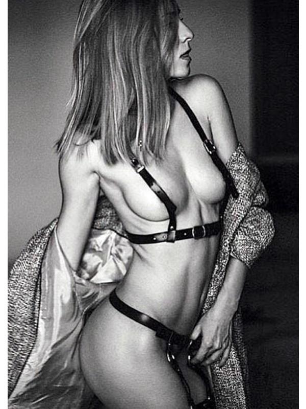Angels Passion Göğüs Üzerini Kapatan Seksi Jartiyer Takım - APFT220