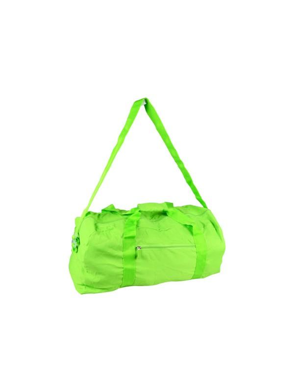 Biggfashion Yeşil Katlanabilir Duffel Çanta