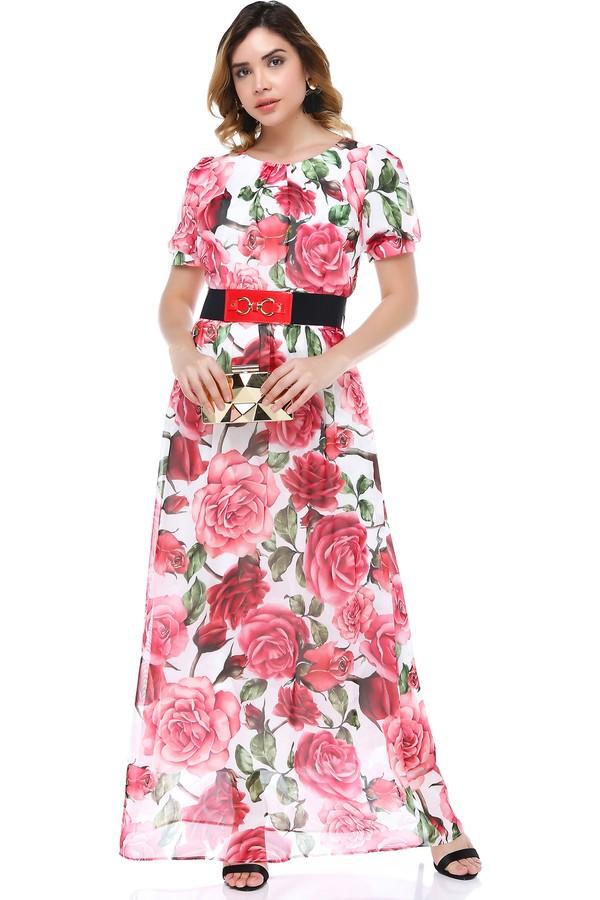 B & S Line Women's Floral Dress