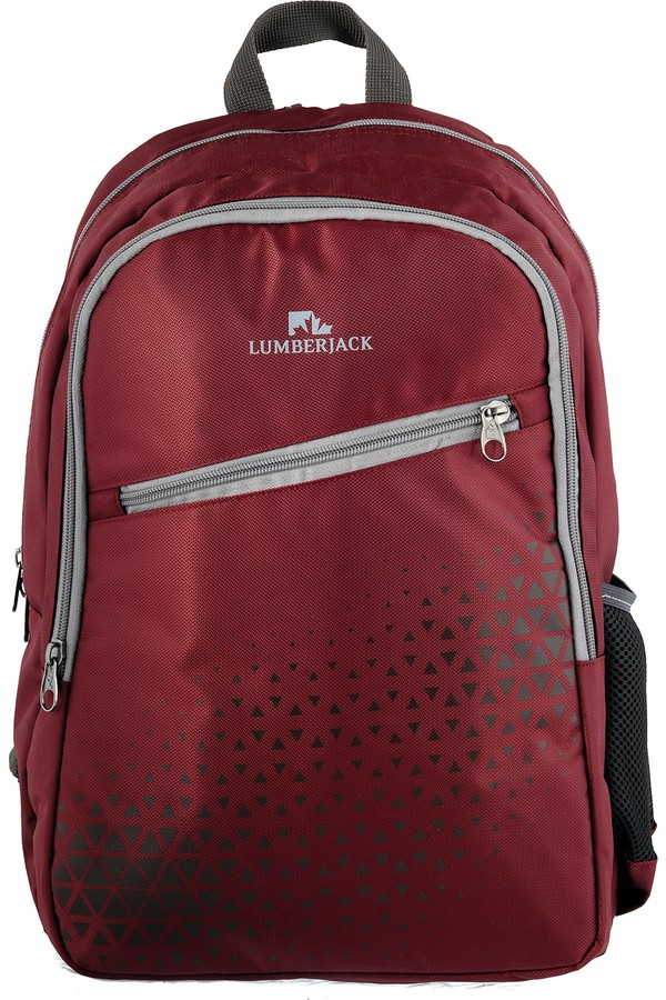 Lumberjack Claret Red Backpack LM8541