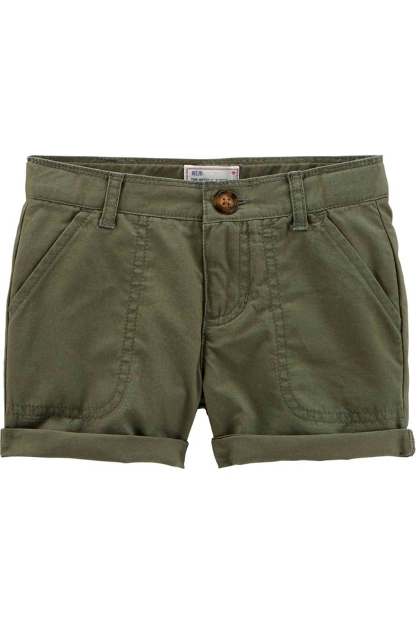 Carter's Kids Solid Shorts 278G869